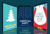 design a stunning christmas poster or flyer