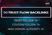 get 50  high Trust flow links on high Pa and Da