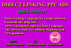 create Direct Linking Campaign On Adword,Facebook,Bing Ads