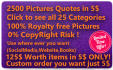 give 100 inspirational quotes pictures with your logo 2400 Extra