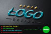 do 2d or 3d logo design