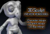 make a 3D model for character, product, doll preview