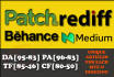 write and publish guest post on Patch, Rediff, Behance and Medium