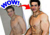 photoshop you, add muscles and abs to boost your motivation