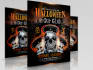 design Stunning Halloween Party Flyer in 10 Hours