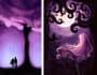 draw dark fantasy illustrations