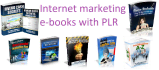 give you150 eBooks about internet marketing,marketing with PLR