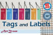 design Clothing Labels and TAGS within 18 hours