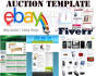 create responsive professional eBay Auction template
