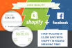 show you how to make money using shopify and facebook