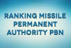 ranking missile permanent authority pbn