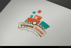 design badge and company logo design just 12 hours