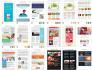 design SendGrid and Sendlane email template newsletter and setup
