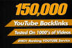 build YouTube Video SEO Backlinks, to Video Improving