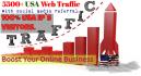 send 5500 USA Web Traffics with Social Media Referral