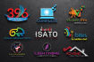 design 2d and 3d logo for you