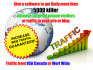 send a best 2 software get daily 5000 Real TRAFFIC your site