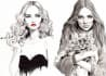 draw fashion illustrations for you