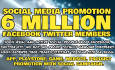 promote your apps, games, play store to 6Million Social people