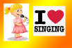 sing Pop and Rock songs