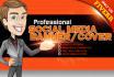 make you a customized Twitter,Fb,Google,YouTube background image