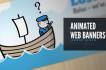 do a web banner clickable animated for you