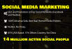 promote site, blog, product, service,or any link via 14 million social,people
