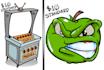 draw POWERFUL clip art cartoon today