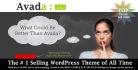 create professional website or blog by Avada wordpress theme