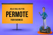 create animated promotional video and presintation