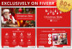 send you best on fiverr Christmas Slides PowerPoint Template