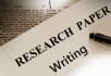 do any RESEARCH work and write your academic essays