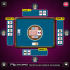 design Card Game Solitaire board and casino cards