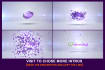 do this eye catchy Butterfly Crystal Video Intro