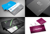 design Creative Business card just in 20 hours with free stationery
