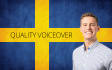 record quality voiceover in Swedish or with Swedish Accent