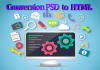 convert psd to html css
