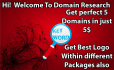 research 5 available domain that will perfect 4 u