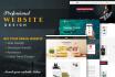 design a Modern Website in PSD