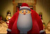 make Funny Christmas Santas Work Shop video starring you