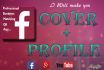 make any Professional Social Media Cover and Profile