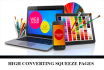 design you a highly converting squeeze page