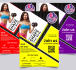design fitness, gym flyers