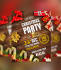 create CHRISTMAS flyer, banner and invitation card in 1 day