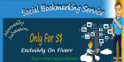 provide 50 plus Social Bookmarking by manually PR10 to PR4