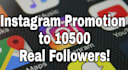 create unique post and promote you to 10000 plus Instagram followers