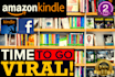 viralize Kindle book among best book readers on Facebook