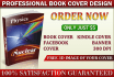 design an Eye Catching Kindle book cover in 24 Hours
