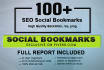 add your website to 150 SEO social bookmarks