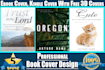 make an eBook Kindle, Book Cover or 3D in 24 hours